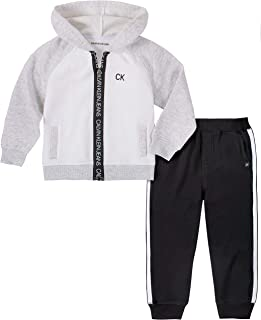 Calvin Klein 男孩 2 件慢跑套装