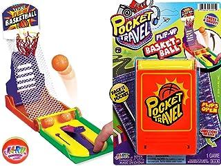 手指保龄球游戏便携式袖珍桌面游戏迷你(套装)JARU 出品。 经典玩具系列派对礼品玩具 | 商品 #3205- 1包 篮球