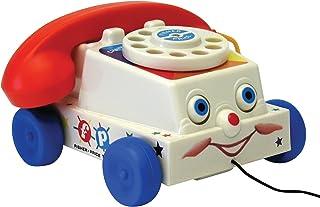 Basic Fun Fisher Price 经典复古Chatter电话