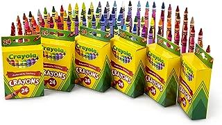 Crayola 繪兒樂 蠟筆,學校&藝術課用品,6盒,每盒24支