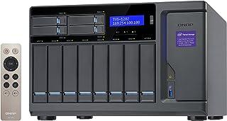 QNAP TVS-1282 12-Bay 网络连接存储盘柜 带英特尔 i5 处理器,16 GB RAM 和 450 W 电源模块