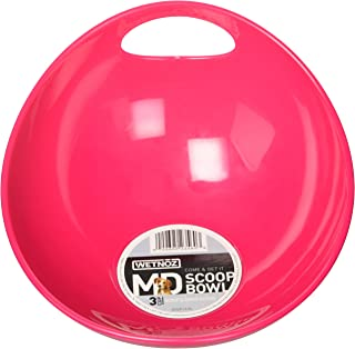 Wetnoz 23560 3-Cup Studio Scoop Dog Dish, Medium, Hibiscus