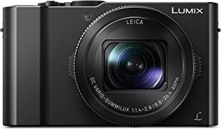 松下 DMC-LX15EB-K 4K Lumix 小型数码相机 - 黑色