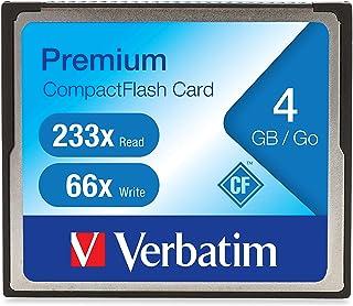 Verbatim 4GB 66X Premium CompactFlash Memory Card