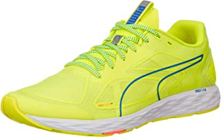 PUMA 男士 Zapatillas Running de competición, Amarillo (Yellow Alert White/Palace Blue 01),48.5