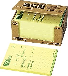 NICHIBAN 便签 点便条 電話メモ(50枚×10冊入) 混色