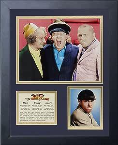 Legends Never Die The Three Stooges Mo 创意拼贴相框,27.94 厘米 x 35.56 厘米