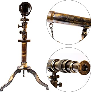 收藏品购买航海望远镜Ottway London 1915 复古支架,25.4 x 45.72 厘米,黄铜复古