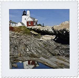 danita delimont–灯塔–美国 Maine pemaquid 灯塔和 Rocky 海岸–US 20码 bth0001–BRENDA tharp–方块拼布