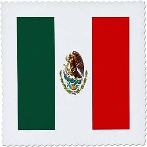 国旗–墨西哥国旗–方块拼布
