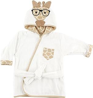Hudson Baby 动物脸连帽浴袍 Nerdy 长颈鹿 0-9 个月
