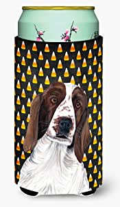 Welsh Springer Spaniel Candy Corn Halloween Portrait Michelob Ultra Koozies for slim cans SC9167MUK 多色 Tall Boy