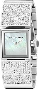 Armani Exchange 女士 AX4208 银色手表