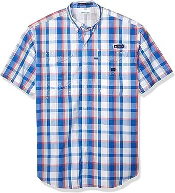 Columbia Super Bonehead 经典衬衫 3X 蓝色 1276382-481-3X