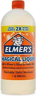 Elmerâ€s 胶水黏液魔法液体激活液,1 夸脱,适合形成粘液 32oz