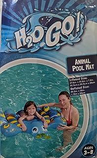 """H2OGo 彩色充气蝴蝶游泳泳池浮垫 适合 3-8 岁儿童 - 37.6"""" x 37.6"""" x 7.9"""""""
