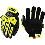 Mechanix Wear M-Pact CR5 Impact Reducing Safety Gloves Black with yellow and orange XX-L