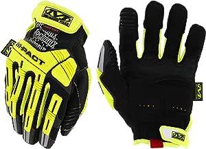 Mechanix Wear - Hi-Viz M-Pact CR5A5 Gloves (Small, Black/Fluorescent Yellow)