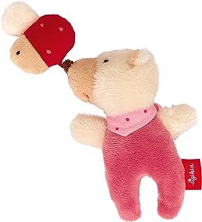 Sigikid 42295 Rattle Bear with Beetle Red Stars 粉紅色
