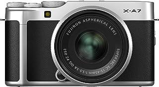 X-A7 无反光数码相机,带 XC15-45mmF3.5-5.6 镜头X-A7 Kit - Silver 银色