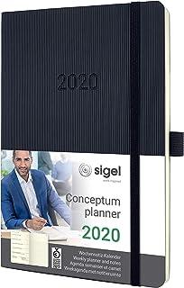 SIGEL 周记事本 2020 ca. A5 Softcover