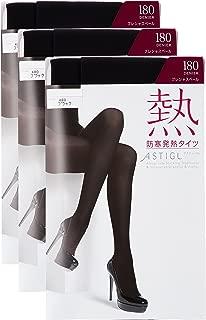 ATSUGI 厚木 紧身裤袜 ASTIGU 【热】防寒发热紧身裤 180但尼尔〈3双装〉