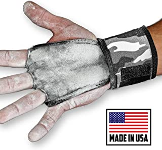JerkFit WODies 全迷彩 2 合 1 组合腕带,掌部保护
