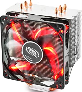 DEEPCOOL CPU Cooler GAMMAXX 400 Red LED 4 Heat Pipes