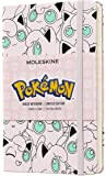 Moleskine 笔记本 - 特别版 Pokemon 横线;硬封面 Jigglypuff Pocket