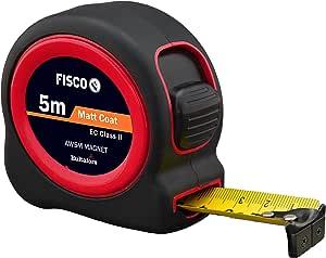 Fisco A1 Plus 磁性 - Ii 和 ABS 橡胶涂层盒带磁性端扣带(5 米 x 25 毫米)