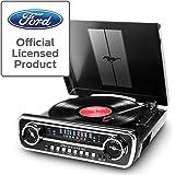 Ion Audio Ford LP-4 合 1 经典车型音乐中心(Mustang LP 黑色)