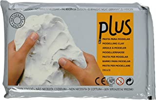 Plus Natural Self-Hardening Clay 2.2lb-White