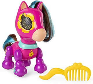 Zoomer Zupps Pretty Ponies 系列 1互动小马驹 带灯光声音和传感器