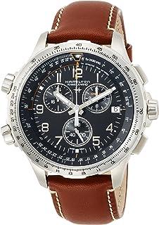 [HAMILTON]HAMILTON 手表 卡其色 X-WIND GMT 计时码表 H77912535 男士