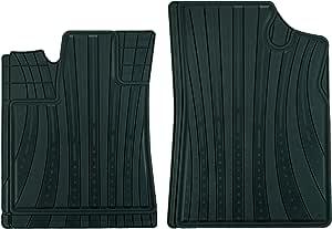CarFashion 全天候定制脚垫适合 Hyundai Santa Fe 5 座位 AB1 II 2 Stücke 黑色 231665