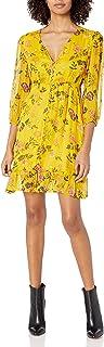 Kooples 女式短款纽扣连衣裙,花卉印花