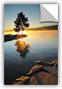 """ArtWall Steve Ainsworth's Witness to The Dawn Art Appeelz Removable Graphic Wall Art, 24 x 36"""""""