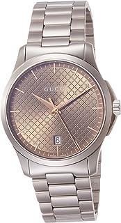 [古驰]GUCCI 腕表 G-Timeless 棕色表盘 YA1264053 男士 【平行进口商品】