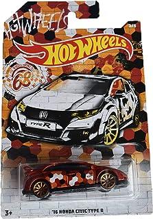 Hot Wheels 68th Racing Club '16 Honda Civic Type R 2/5,红色