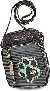 Chala Organizer 斜挎手机钱包-女士人造皮革多色手提包带可调节肩带