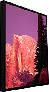 ArtWall 'Halfdome Glow' Gallery Wrapped Canvas Art by Dean Uhlinger, 22.5 by 30.5-Inch