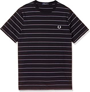 FRED PERRY T恤 FINE STRIPE T-SHIRT M8532 男士