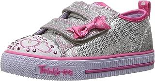Skechers 女童 Shuffles-Itsy Bitsy 运动鞋
