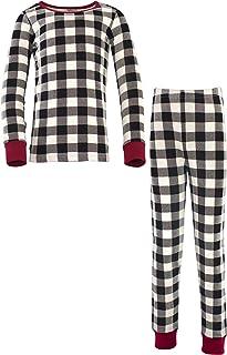 Touched by Nature 儿童中性款(婴儿、儿童和青少年)*棉睡衣上衣和裤子