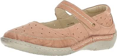 Propet 女士 Julene Mary Jane 平底鞋 米色 10 W US
