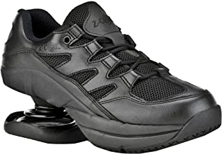 Z-CoiL 缓解*鞋履女式自由防滑黑色皮革网球鞋