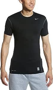 Nike 耐克 ATHLETIC TRAINING 男式 短袖针织衫 黑/(冷灰) 185/100A 269603-010