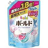 日本宝洁BOLD 洗衣液替换装 含柔顺剂 纯净香味 特大1.26kg