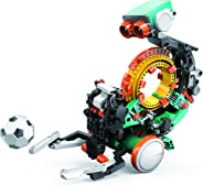 Elenco Teach Tech Mech-5 | 可编程机械机器人编码套件 | STEM 儿童教育玩具 10+