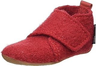 HAFLINGER 中性款 Everest Bello 家居鞋,辣椒色